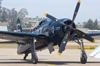 N7825C @ KSEE - At 2013 Wings Over Gillespie Airshow in San Diego , California