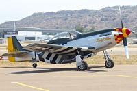 N151MW @ KSEE - At 2013 Wings Over Gillespie Airshow in San Diego , California