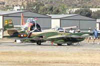 N370ML @ KSEE - At 2013 Wings Over Gillespie Airshow in San Diego , California