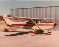 N8885T @ KRVS - The photo, taken about June of 1981, was a few days after 8885T received a fresh paint job using a much later Skylane paint scheme.  Photo was taken at the plane's Tulsa, Oklahoma home. - by Jim Sehl