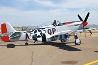 N44727 @ KSEE - At the 2013 Wings Over Gillespie Airshow in San Diego - California