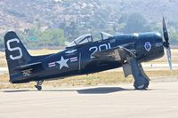 N7825C @ KSEE - At the 2013 Wings Over Gillespie Airshow in San Diego - California