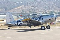N8527P @ KSEE - At the 2013 Wings Over Gillespie Airshow in San Diego - California