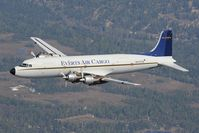 N747CE @ INFLIGHT - Everts Air Cargo DC6