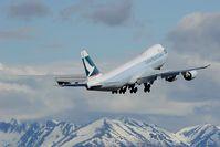 B-LJI @ PANC - Cathay Pacific Boeing 747-800 - by Dietmar Schreiber - VAP