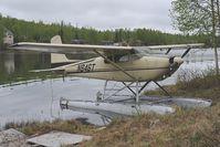 N846T @ D72 - Cessna 180