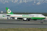 B-16407 @ PANC - Eva Air Boeing 747-400 - by Dietmar Schreiber - VAP