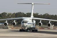 78820 @ LMML - IL76 78820 Ukranian Air Force - by Raymond Zammit