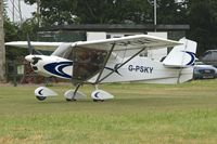 G-PSKY - At 2013 Stoke Golding Stakeout