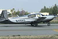 N40AU @ KVNY - At Van Nuys Airport in May 2013