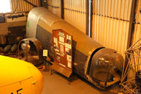 KB976 @ X3DT - rear fuselage preserved at the South Yorkshire Aircraft Museum, AeroVenture, Doncaster - by Chris Hall
