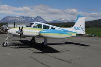 N2671C @ PAAQ - Cessna 310