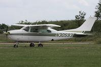 N30593 @ EGTC - Cessna 210L. Cranfield Airport, June 2013. - by Malcolm Clarke