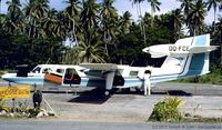 DQ-FCE @ NFNS - Air Pacific Trilander on the apron at Savusavu airport on the Fijiian Island of Vanua Levu. - by joetourist