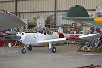 N5694F @ KCMA - CAF restoration hangar at Camarillo