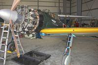 N712Z @ KCMA - CAF restoration hangar at Camarillo