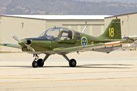 N68TL @ KCMA - At Camarillo Airport , California  - ex Swedish AF 61018