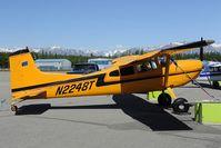 N2248T @ PAAQ - Cessna 185