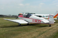 G-BEZZ @ EGBR - Jodel D-112 Club at The Real Aeroplane Company's Wings & Wheels Fly-In, Breighton Airfield, July 2013. - by Malcolm Clarke