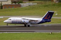 OO-DJZ @ EBBR - BAe 146-RJ85 [E2305] (Brussels Airlines) Brussels~OO 15/08/2010