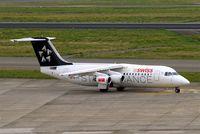 HB-IYV @ EBBR - BAe 146-RJ100 [E3377] (Swiss European Air Lines) Brussels~OO 15/08/2010
