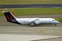 OO-DWE @ EBBR - BAe 146-RJ100 [E3327] (Brussels Airlines) Brussels~OO 15/08/2010