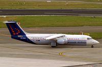 OO-DWA @ EBBR - BAe 146-RJ100 [E3308] (Brussels Airlines) Brussels~OO 15/08/2010