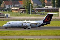 OO-DWF @ EBBR - BAe 146-RJ100 [E3332] (Brussels Airlines) Brussels~OO 13/08/2010