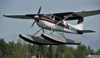 N9333T @ PALH - At Lake Hood Seaplane Base