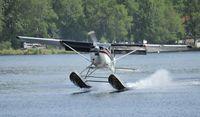 N9333T @ PALH - Departing Lake Hood