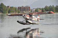 N4265H @ PALH - Departing Lake Hood