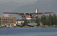 N4145 @ PALH - Landing at Lake Hood