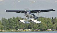 N4649U @ PALH - Departing Lake Hood