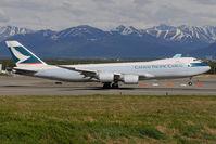 B-LJI @ PANC - Cathay Pacific Boeing 747-8 - by Dietmar Schreiber - VAP