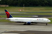 N180DN @ EBBR - Boeing 767-332ER [25985] (Delta Air Lines) Brussels~OO 15/08/2010 - by Ray Barber