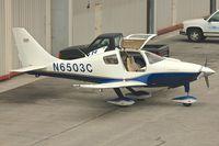 N6503C @ KSMO - At Santa Monica Airport , California