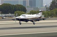 N214CS @ KSMO - At Santa Monica Airport , California