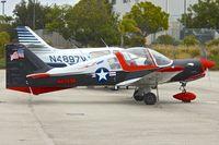 N82696 @ KSMO - At Santa Monica Airport , California - ex Swedish AF 61023