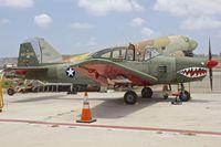 N91163 @ KCMA - At Camarillo Airport , California - with false USAF Serial 45-76101