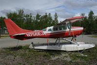 N756EJ @ 4AK6 - Cessna 206