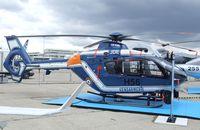 0747 @ LBG - Eurocopter EC135T-2 of the Gendarmerie at the Aerosalon 2013, Paris - by Ingo Warnecke