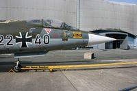 22 40 @ LFPB - Lockheed F-104G Starfighter, Air & Space Museum Paris-Le Bourget (LFPB) - by Yves-Q