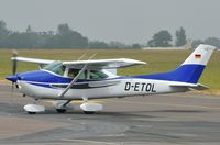 D-ETOL @ EGSH - Very smart looking aircraft ! - by keithnewsome
