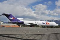 N492FE @ PAMR - Fedex Boeing 727-200