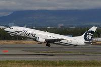 N768AS @ PANC - Alaska Airlines Boeing 737-400