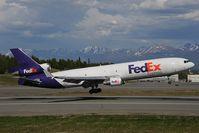 N523FE @ PANC - Fedex MD11
