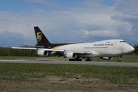 N572UP @ PANC - UPS Boeing 747-400
