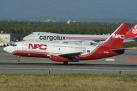 N321DL @ PANC - Northern Air Cargo Boeing 737-200