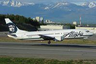 N794AS @ PANC - Alaska Airlines Boeing 737-400