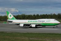 B-16402 @ PANC - Eva Air Boeing 747-400